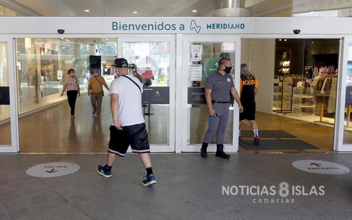 Apertura Centro comercial Meridiano, S/C. de Tenerife. Trino Garriga. NOTICIAS 8 ISLAS.