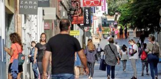 Calle Castillo, S/C. de Tenerife, ayer día 2 de mayo. Trino Garriga. NOTICIAS 8ISLAS.