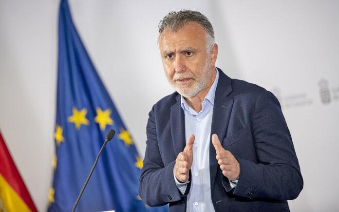 Ángel Víctor Torres, presidente de Canarias. Cedida. NOTICIAS 8 ISLAS.