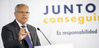 Casimiro Curbelo, presidente de la FECAI. Cedida. NOTICIAS 8 ISLAS.