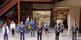 Nuevo ejecutivo del Gobierno de Canarias. Cedida. NOTICIAS 8 ISLAS.
