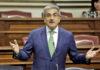 Román Rodríguez, vicepresidente del Gobierno de Canarias y consejero de Hacienda. Cedida. NOTICIAS 8 ISLAS.