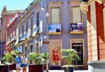 """""""Desde mi balcón"""", muestra fotográfica expuesta en la Calle Castillo. Cedida. NOTICIAS 8 ISLAS."""