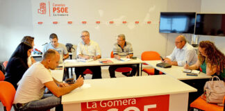 Ejecutiva Insular del PSOE de La Gomera. Cedida. NOTICIAS 8 ISLAS.