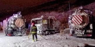 Incendio en la depuradora de Barranco Seco. Bomberos de Las Palmas de Gran Canaria.