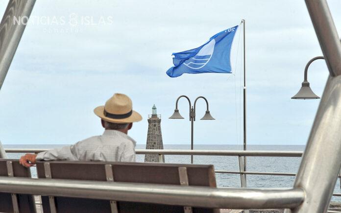 Bandera Azul en Bajamar, Tenerife. Manuel Expósito. NOTICIAS 8 ISLAS.