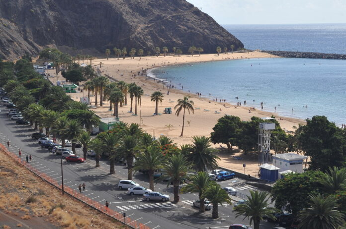 Playa de Las Teresitas, S/C. de Tenerife./ © Manuel Expósito.