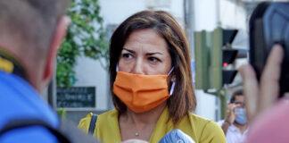 Evelyn Alonso momentos previos a la toma de posesión de su acta como concejal. Trino Garriga. NOTICIAS 8 ISLAS.