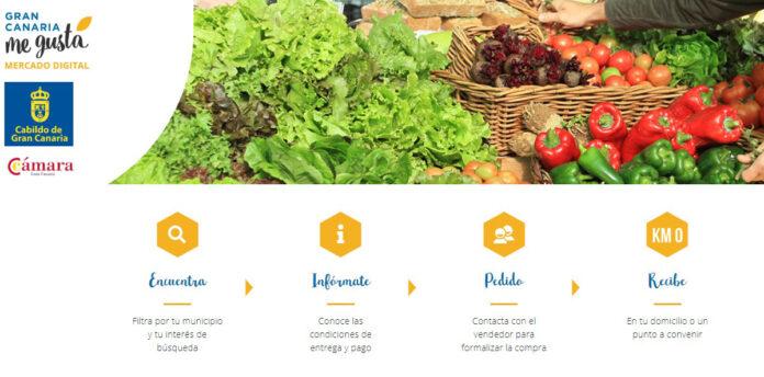 Mercado virtual Gran Canaria. Cedida. NOTICIAS 8 ISLAS.