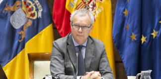 El consejero de Obras Públicas, Transportes y Vivienda del Gobierno de Canarias, Sebastián Franquis. Cedida. NOTICIAS 8 ISLAS.