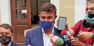 Guillermo Díaz Guerra, concejal del PP en Santa Cruz de Tenerife. ©Manuel Expósito. NOTICIAS 8 ISLAS.