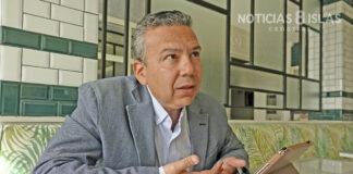 Dámaso Arteaga, concejal del grupo municipal CC-PNC. ©Manuel Expósito. NOTICIAS 8 ISLAS.