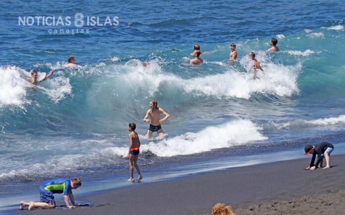 Playa La Arena, Santiago del Teide. ©Manuel Expósito. NOTICIAS 8 ISLAS.
