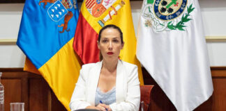 Patricia Hernández, alcaldesa de Santa Cruz de Tenerife. Cedida.