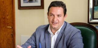 José Julián Mena, alcalde de Arona./ F. Luz Sosa.