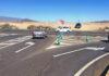 Cruce de la futura rotonda de El Médano./ Cedida.