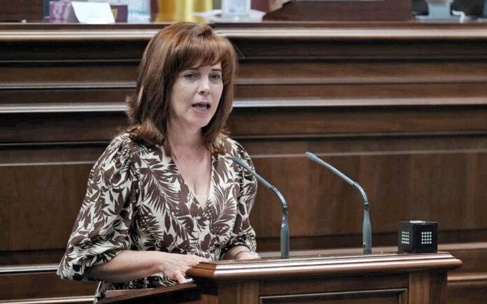 Teresa Cruz Oval, diputada del Grupo Parlamentario Socialista./ Cedida. NOTICIAS 8 ISLAS.