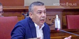 Dámaso Arteaga, concejal del grupo municipal CC-PNC. Trino Garriga. NOTICIAS 8 ISLAS.