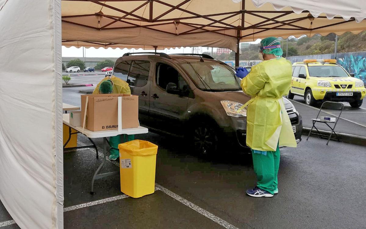 Coronavirus: hoy, 1 fallecido y 172 nuevos casos positivos por COVID-19 en Canarias
