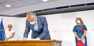 Acto de la firma del PIEC./ Cedida.