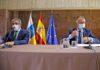 Reunión para el Plan de Reactivación Social y Económico de Canarias./ Cedida.