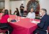 Un momento de la reunión entre el Ejecutivo canario y el CEO de TUI./ Cedida.