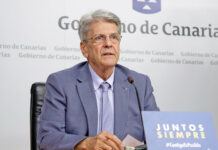 Julio Pérez, portavoz del Ejecutivo canario./ Cedida.