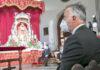 Ángel Víctor Torres en los actos de celebración de la Patrona de Canarias./ Cedida.