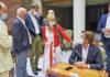 Comparecencia patronales turísticas en el Parlamento de Canarias./ Cedida.