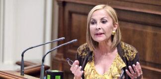 Australia Navarro, portavoz del Grupo Parlamentario Popular. Cedida. NOTICIAS 8 ISLAS.