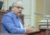 Casimiro Curbelo, portavoz del Grupo Parlamentario Agrupación Socialista Gomera./ Cedida.