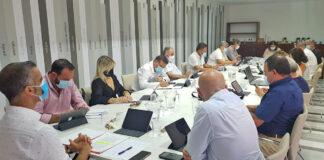 Reunión del Comité Ejecutivo de la Federación Canaria de Municipios (FECAM)./ Cedida.