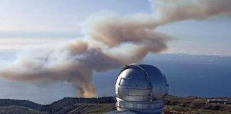 Incendio forestal de Garafía, La Palma./ facebook Ayuntamiento de Los Llanos de Aridane.