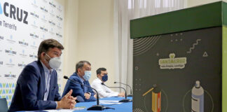 Un momento de la rueda de prensa de la presentación de la campaña. ©Manuel Expósito. NOTICIAS 8 ISLAS.