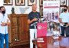 Un momento del acto de presentación de la plataforma web: 'Market Place' de La Orotava./ Cedida.