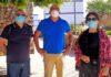 Miembros de la Comisión aluminosis de Las Chumberas./ Cedida.