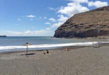 Playa de San Sebastian de La Gomera./ Cedida.