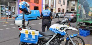 Policia Local de S/C. de La Palma./ Cedida.