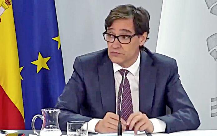 Salvador Illa, ministro de Sanidad./ Cedida.