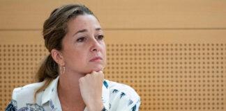 Verónica Meseguer, Secretaria General de la organización juvenil en Tenerife./ Cedida.