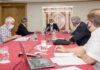 Reunión del Comité de Gestión de Emergencia Sanitaria./ Cedida.