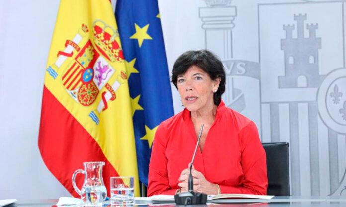 Isabel Celaá, ministra de Educación y Formación Profesional./ Pool Moncloa.