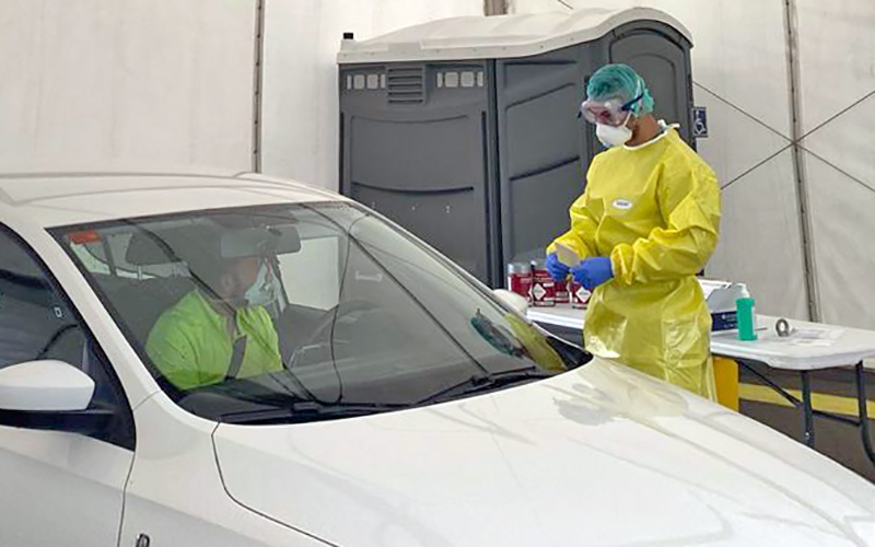 Coronavirus: hoy, 2 fallecidos y 167 nuevos casos positivos por COVID-19 en Canarias