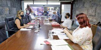 Reunión del Consejo de Gobierno, S/C. de Tenerife./ Cedida.