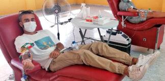 Donantes de sangre./ Cedida.