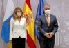 Yolanda Díaz y Ángel Víctor Torres en el Ministerio de Trabajo./ Cedida.
