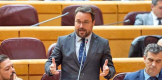 Asier Antona, portavoz adjunto del Grupo Popular en el Senado./ Cedida.