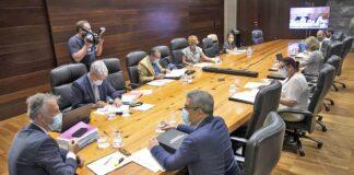 Reunión del Consejo de Gobierno./ Cedida.