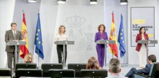 Rueda de prensa del Consejo de Ministros./ Pool Moncloa - J.M. Cuadrado.