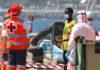 Actuación de Cruz Roja en llegada de migrantes./ Twitter - Cruz Roja Tenerife.